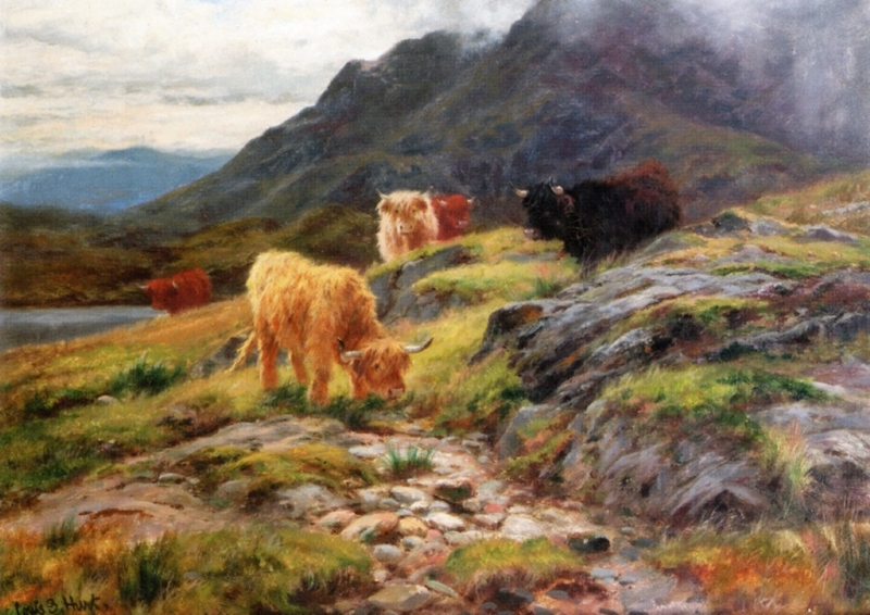 ByScuir Na Gillean Skye by Louis Bosworth Hurt