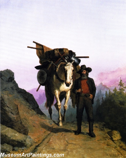 Idyll Painting by Christian Skredsvig