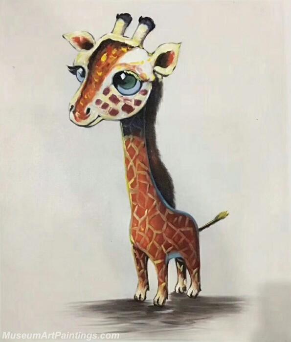 Cartoon Painting Deer CPC11