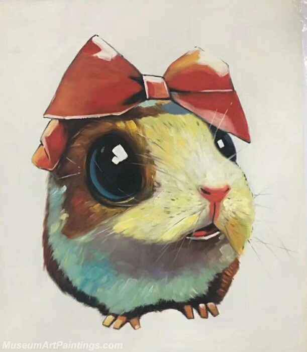 Cartoon Painting Rabbit CPC3