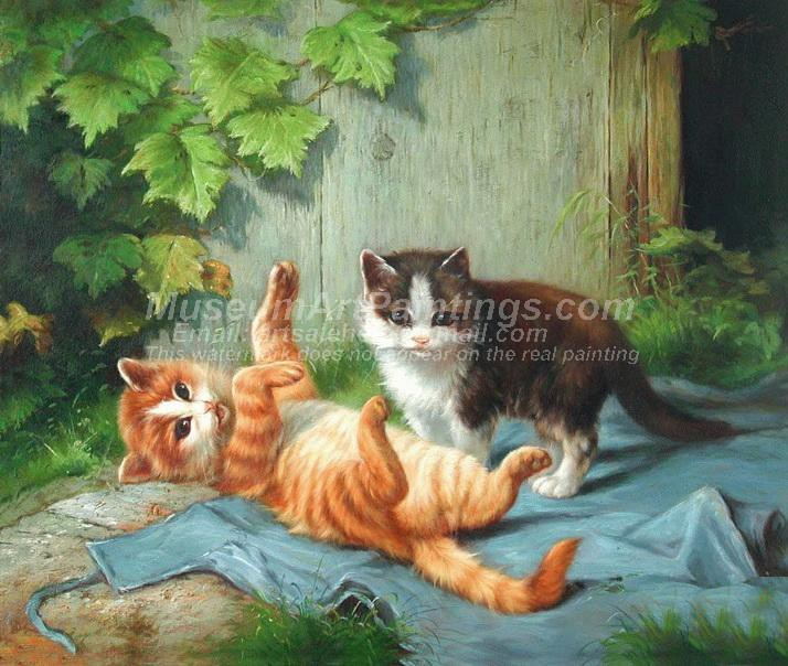 Cat Oil Paintings 002