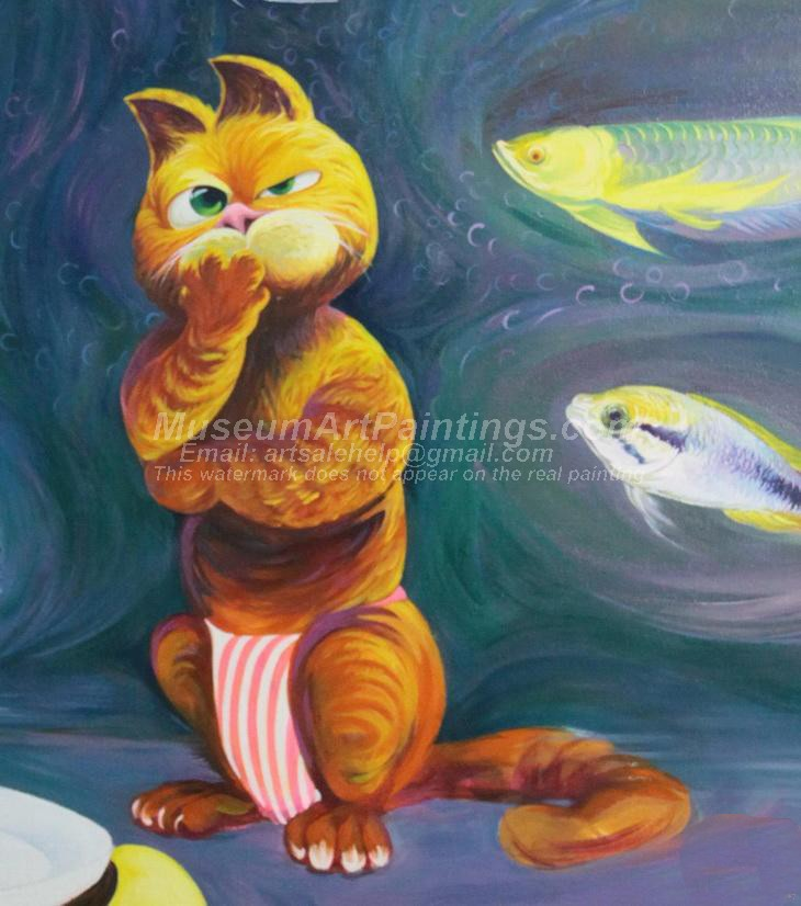 Cat Oil Paintings 004