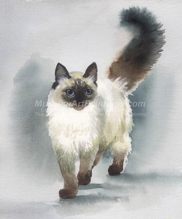 Cat Oil Paintings 006