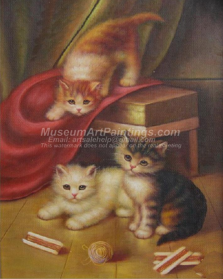Cat Oil Paintings 007