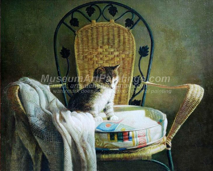 Cat Oil Paintings 008