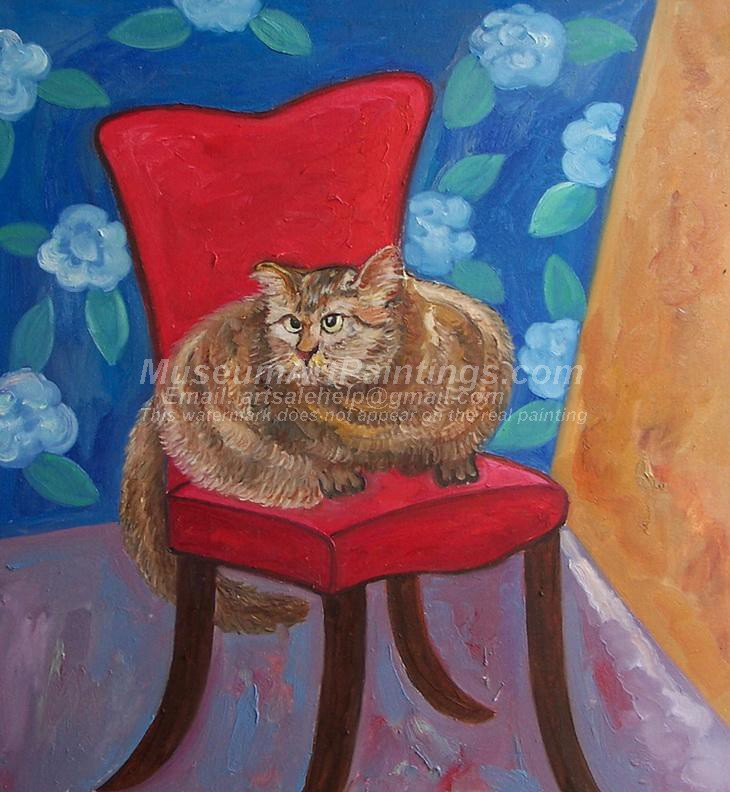 Cat Oil Paintings 011