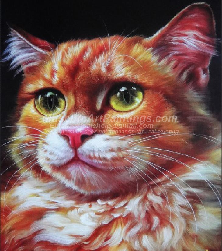 Cat Oil Paintings 012
