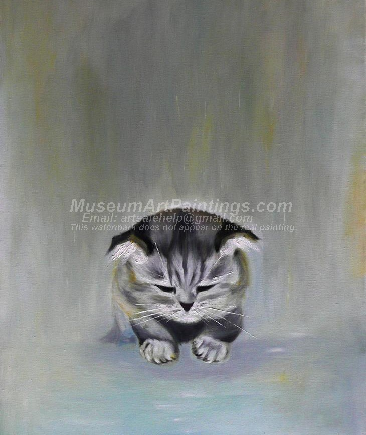 Cat Oil Paintings 013