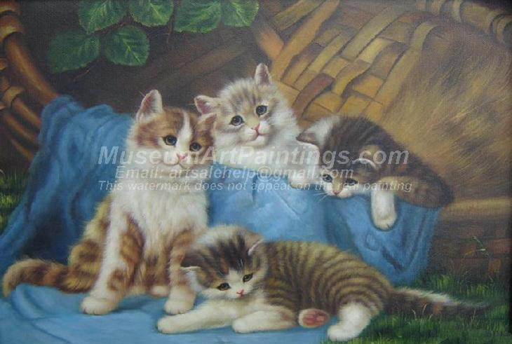 Cat Oil Paintings 016