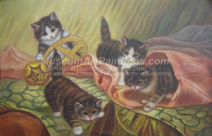 Cat Oil Paintings 018