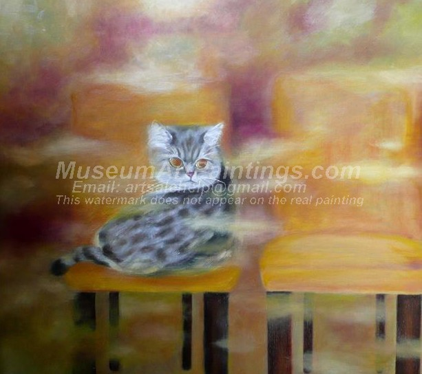 Cat Oil Paintings 019