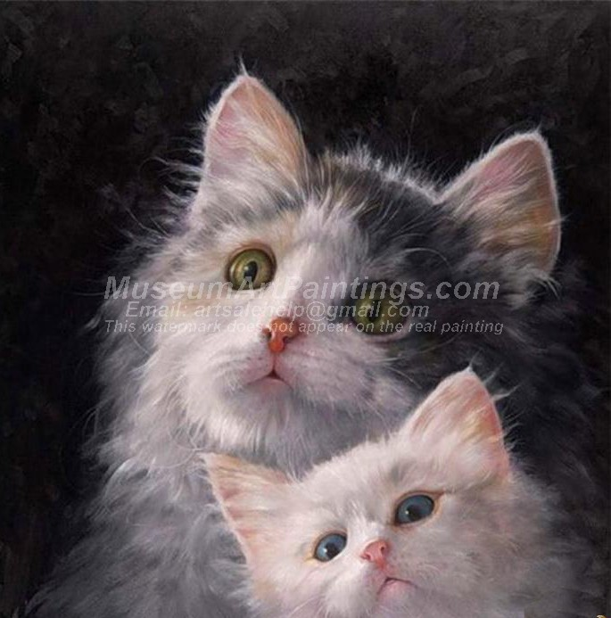 Cat Oil Paintings 020