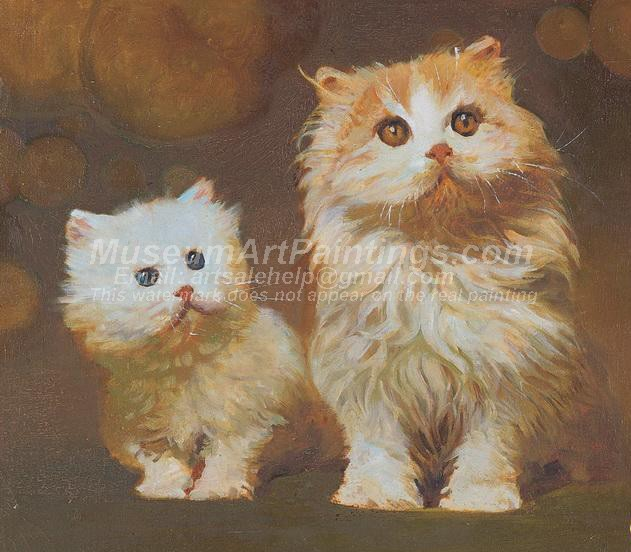 Cat Oil Paintings 023