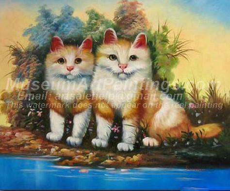 Cat Oil Paintings 025