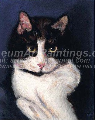 Cat Oil Paintings 027