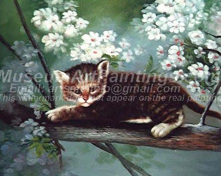Cat Oil Paintings 028