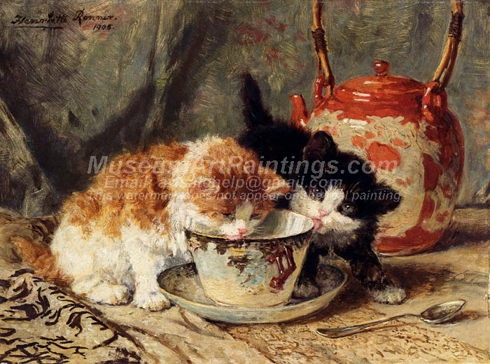 Cat Oil Paintings 029