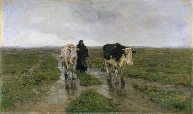 Changing Pasture by Anton Mauve