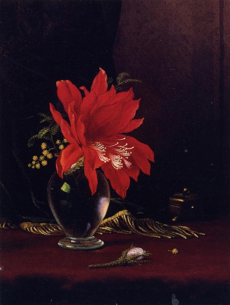 Chateau of Flower by Martin Johnson Heade