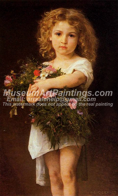 Child Carrying Flowers