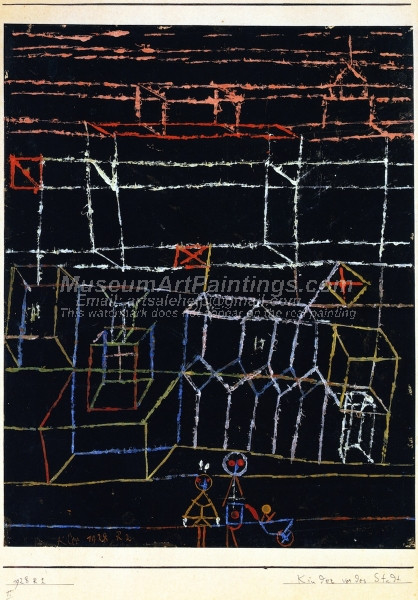 Children before a City by Paul Klee