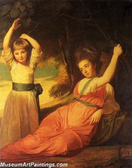 Children of Charles Boone Painting