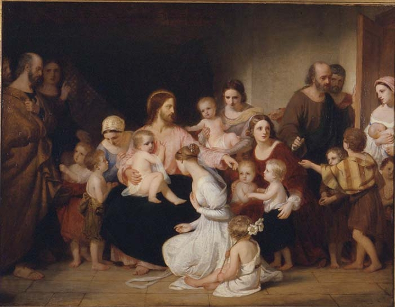 Christ Blessing Little Children by Sir Charles Lock Eastlake PRA