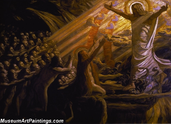 Christ in the Realm of the Dead Painting