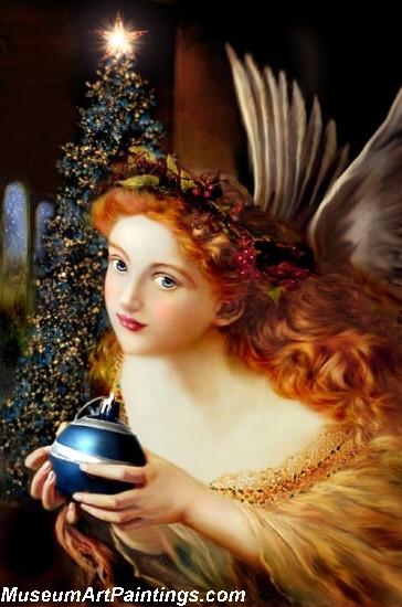 Christmas Angel Painting