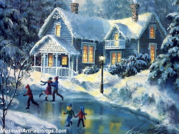Christmas Art Paintings 118