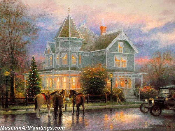 Christmas Memories Painting