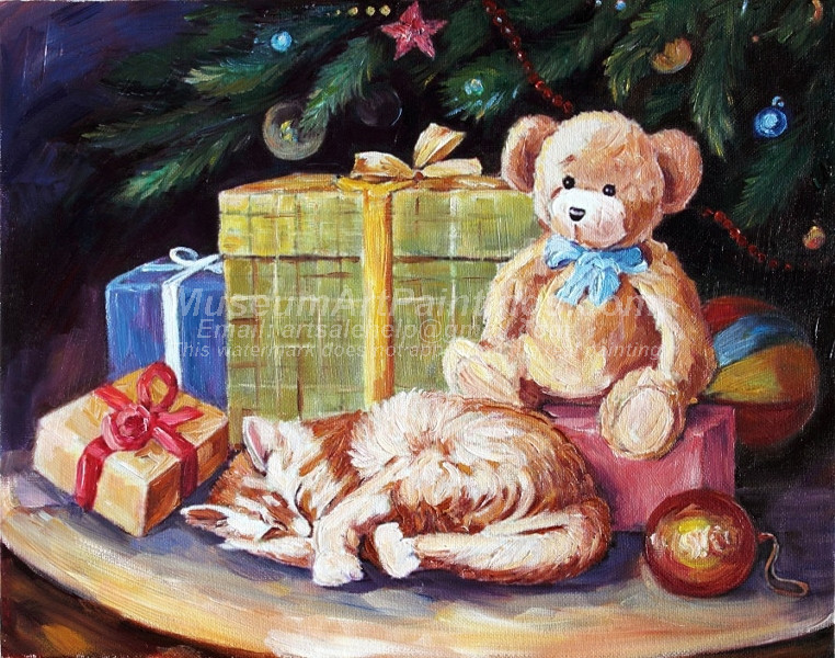 Christmas Oil Paintings 063
