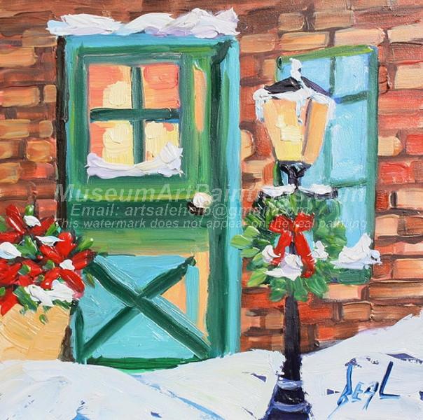 Christmas Oil Paintings 067