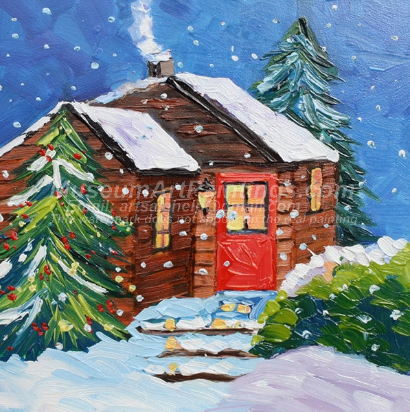 Christmas Oil Paintings 070