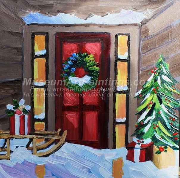 Christmas Oil Paintings 075