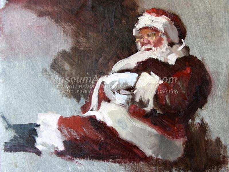 Christmas Oil Paintings 076