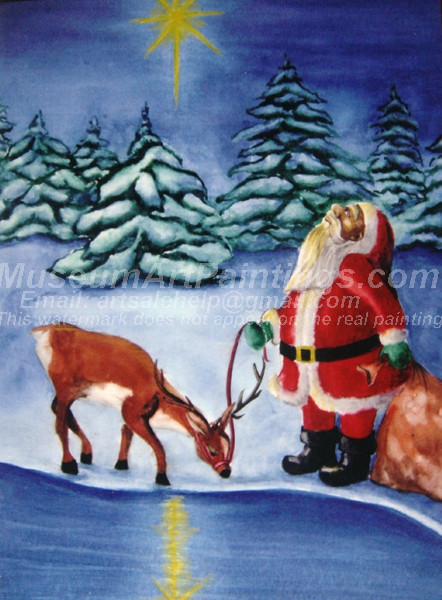 Christmas Oil Paintings 077