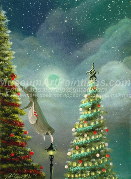 Christmas Oil Paintings 081