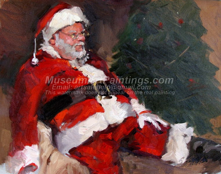 Christmas Oil Paintings 082