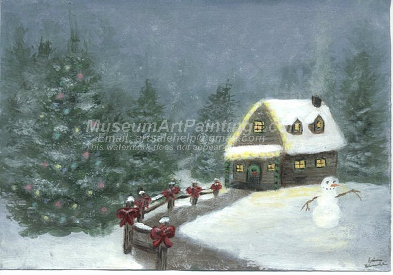 Christmas Oil Paintings 086
