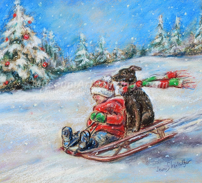 Christmas Oil Paintings 087