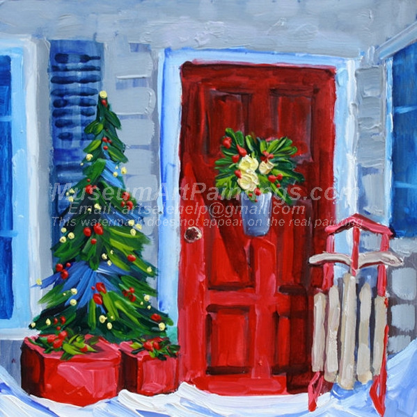 Christmas Oil Paintings 088