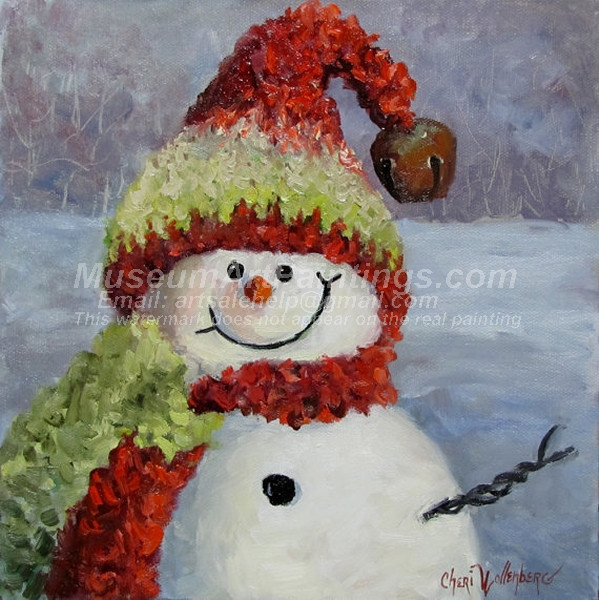 Christmas Oil Paintings 094