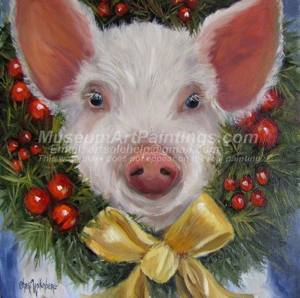 Christmas Oil Paintings 095