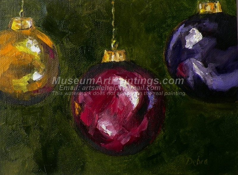 Christmas Oil Paintings 096