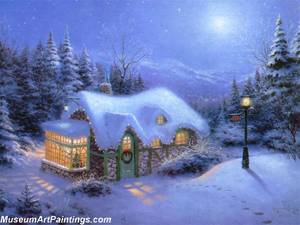 Christmas Oil Paintings 104