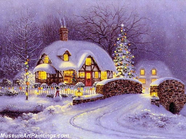 Christmas Oil Paintings 105