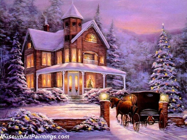 Christmas Oil Paintings 106