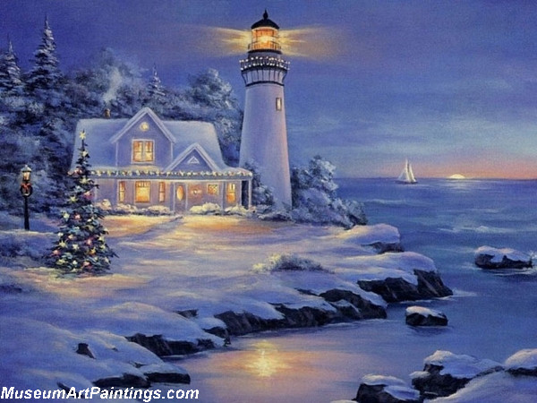 Christmas Oil Paintings 107