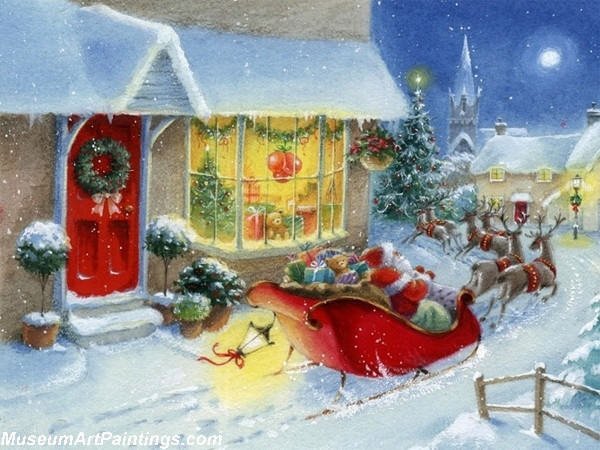 Christmas Oil Paintings 111